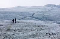 People out walking in the Malvern Hills