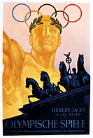 Olympic Summer Games, Berlin, Germany, Poster, 1936