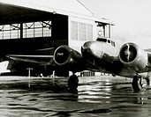 Amelia Earhart's Lockheed Electra Airplane, Honolulu Airport, Hawaii, March 20, 1937