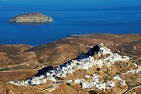 Greece, Cyclades Islands, Serifos island, Hora the capital city