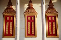 Details on Silver Pagoda in Royal Palace, Phnom Penh, Cambodia