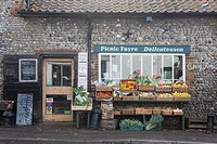 Village store, Cley, North Norfolk, UK.
