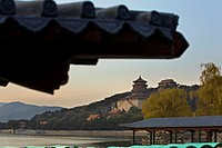 Summer Palace, in Kunming lake,Beijing, China