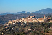 Medieval village of Callian, Var, 83, Provence, PACA, France.