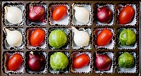 Vegetable candy box