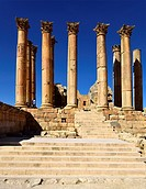 The Jerash Temple of Artemis is a Roman temple in Jerash, Jordan  The temple was built on one of the highest points and dominated the whole city  Ruin...