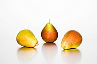 Selection of three pears