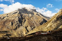 Muktinath Valley, Annapurna Conservation Area, Mustang District, Dhawalagiri Dhaulagiri, Western Region Pashchimanchal, Nepal, Himalayas, Asia