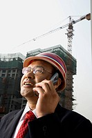 Architect on the job site.