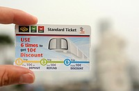 Singapore - SMRT standard ticket