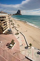 promenade and Ifach   Calpe Alicante