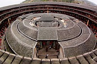 Fujian tulou_special architecture of china
