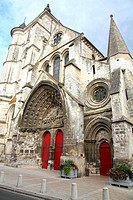Saint Etienne romanesque church, Beauvais, Oise, Picardy, France