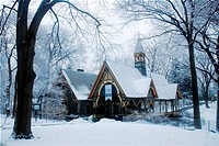 The Dairy, Central park, Winter
