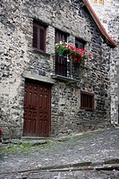 Beautiful stone houses in spanish Pyrinees