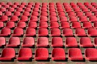 aged stadium grandstand stands pattern