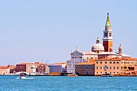Church at Grand canel in Venice, Italy