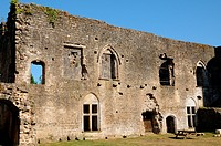 castle of Villandraut in Gironde