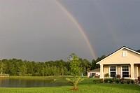 Rainbow is taken in St. Augustine, FL, USA