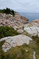 Rocky Shoreline, Cape Breton Highlands National Park, Nova Scotia, Canada