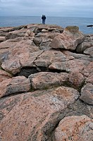 Rocky Coast, Green Cove, Cape Breton Highlands National Park, Nova Scotia, Canada