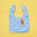 Babys bib with stain