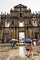 Ruins of St  Paul´s Macau