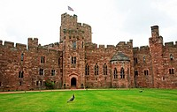 Peckforton Castle stately home or country house Cheshire England UK