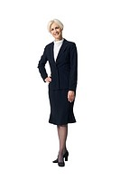Mature businesswoman standing and smiling