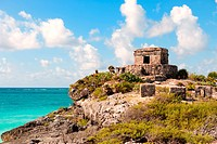 Maya ruins at Tulum, Mexico