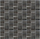 Black mosaic pattern background.