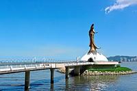 statue of Kun Iam in macau