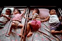 Children in Phnom Penh Orphanage