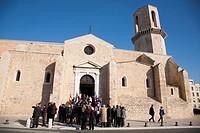 chiesa di san lorenzo, marsiglia, provenza, francia, europa
