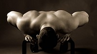 Adult muscular man