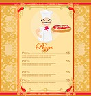 Pizza Menu Template