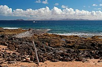 Coast in Playa Blanca, Lanzarote, Spain