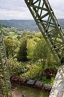Mining plant museum Ottiliae Schacht, Clausthal Zellerfeld, Harz, Lower Saxony, Germany