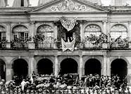 President McKinley Making Speech in New Orleans