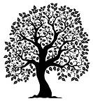 Tree shaped silhouette 3