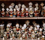 Water puppets in Hanoi in Vietnam