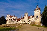 Boitzenburg Castle, Uckermark, Brandenburg, Germany