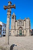 San Martiño Church, Noia, A Coruña province, Galicia, Spain.