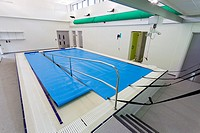 swimming pool with ramp access at Mountjoy School, Beaminister