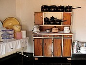 A nice clean kitchen in a rural area, Mount Darwin, Zimbabwe