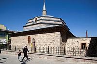 caferiye camii, town of erzurum, eastern anatolia, turkey, asia
