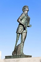 Terry fox monument, thunder bay ontario canada