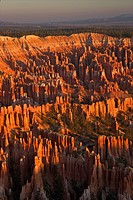 Sunrise from Bryce Point, Bryce Canyon National Park, Utah, United States of America, North America