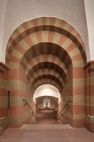 Entrance to the crypt, Kilian Cathedral, Würzburg, Bavaria, Germany