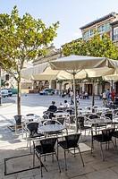 De la Paz square, central square, Haro, La Rioja, Spain